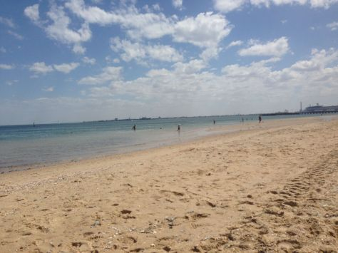 Melbourne's finest beaches, just 10 minutes drive from my family's house