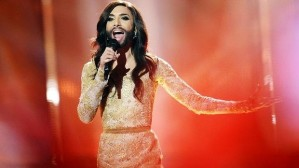 Conchita Wurst won the contest last night despite objections from some homophobic countries.