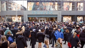 Primark is particularly packed on the weekend