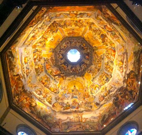 Even when you look up Florence is amazing