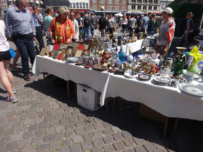 Markets in the town square